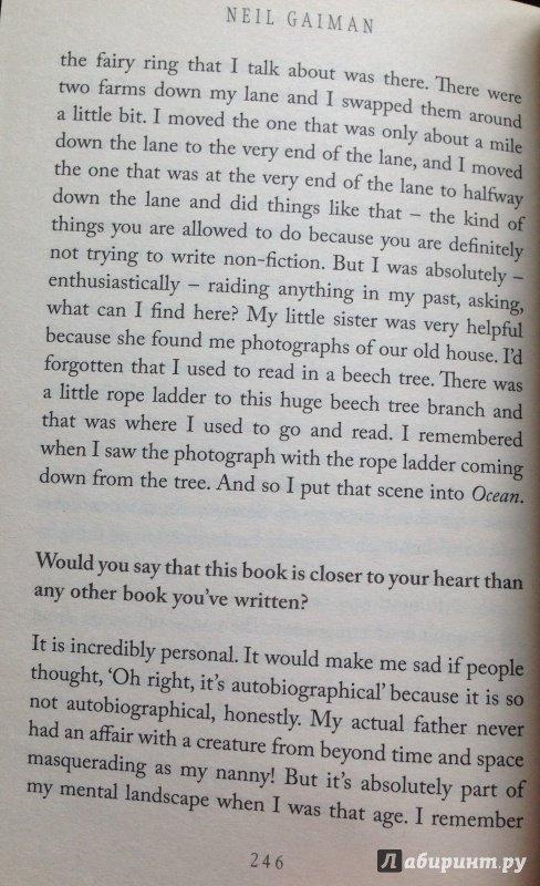 Иллюстрация 15 из 18 для Ocean at the End of the Lane - Neil Gaiman | Лабиринт - книги. Источник: Лабиринт