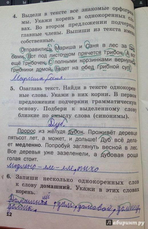 тренажер по русскому языку 4 класс шклярова ответы