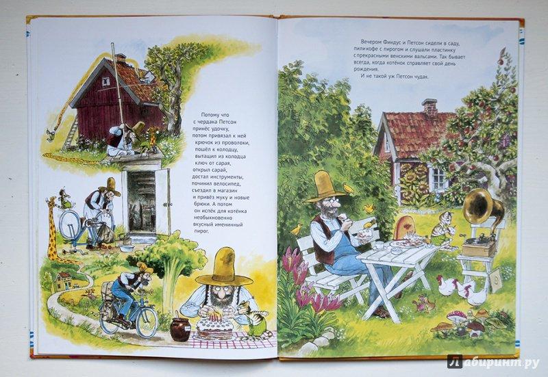 Иллюстрация 43 из 49 для Именинный пирог - Свен Нурдквист | Лабиринт - книги. Источник: Строчинская  Надежда