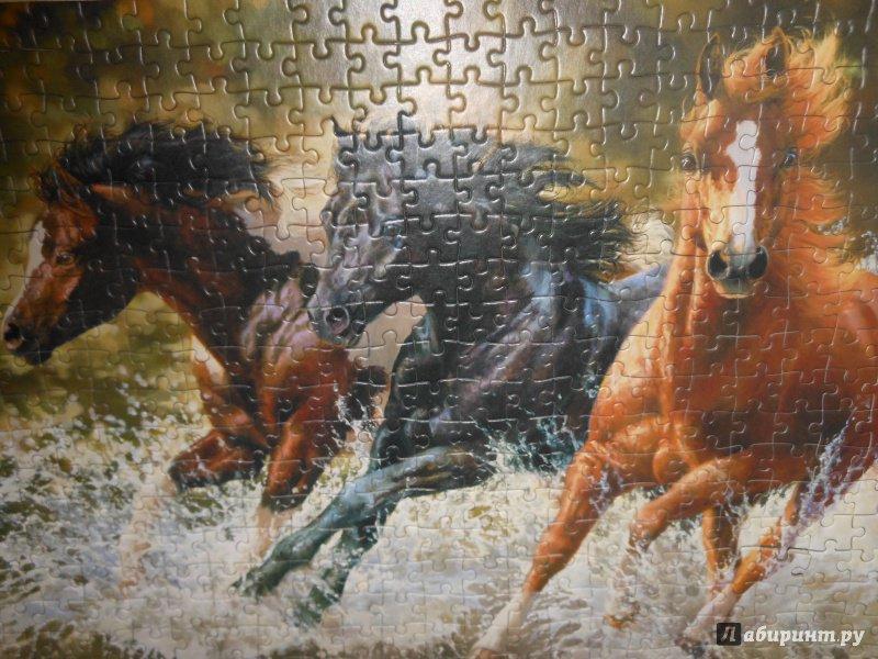 """Иллюстрация 12 из 15 для Puzzle-500 """"Лошади"""" (B-51823)   Лабиринт - игрушки. Источник: Klementinka"""