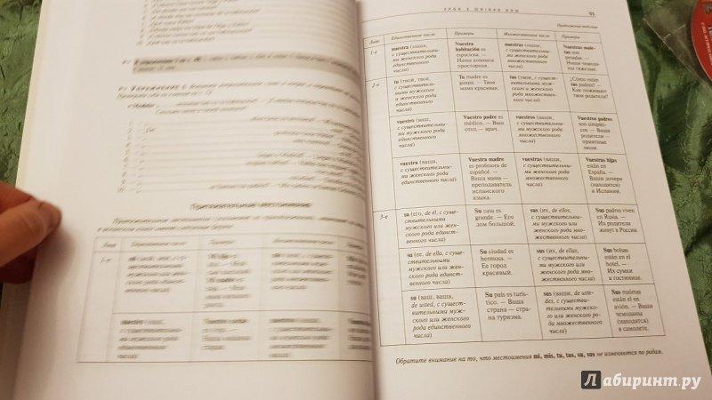 Иллюстрация 27 из 30 для Испанский язык. Самоучитель для начинающих (+CD) - Раевская, Устимова | Лабиринт - книги. Источник: Lana Ap.