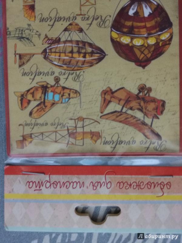Обложка для паспорта Самолеты и дирижабли, Феникс-Презент