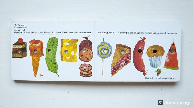 Иллюстрация 23 из 81 для Очень голодная гусеница - Эрик Карл | Лабиринт - книги. Источник: Строчинская  Надежда