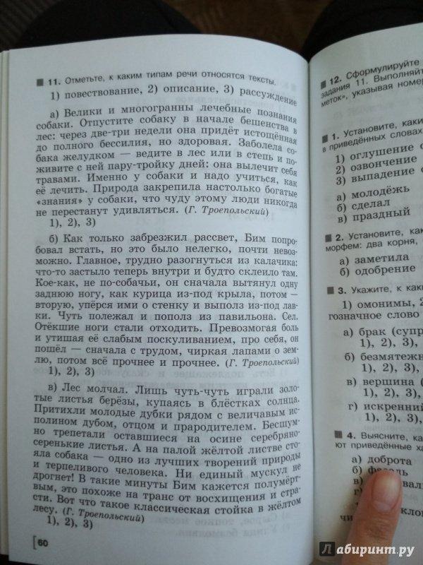 Русский язык 6 класс тематические тесты по программе ладыженской ответы гдз