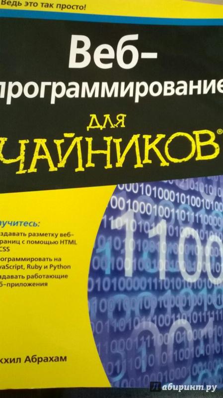 программирование для чайников книга
