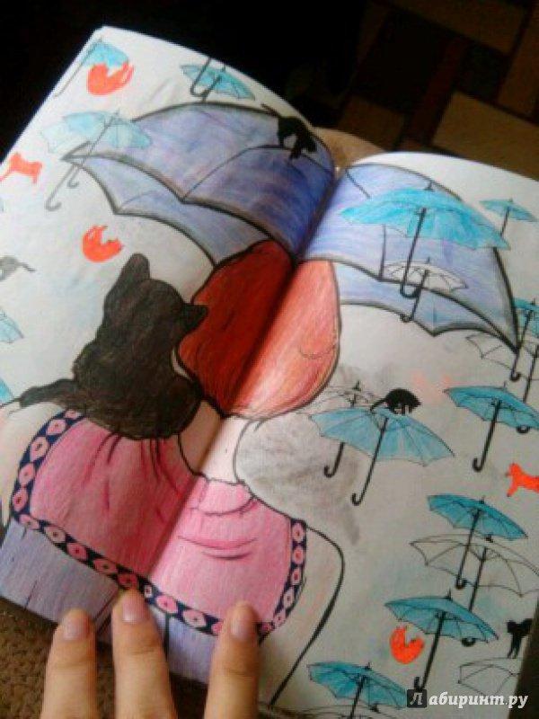 Иллюстрация 49 из 84 для Кототерапия. Мини-раскраска-антистресс для творчества | Лабиринт - книги. Источник: Виктория Ч.