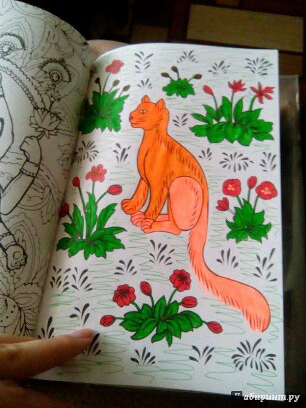 Иллюстрация 52 из 84 для Кототерапия. Мини-раскраска ...