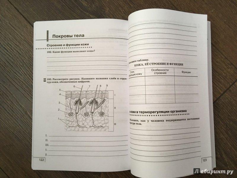 Гдз по биологии 8 класс к учебнику н и сонина м р