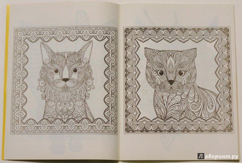 Иллюстрация 20 из 42 для Кошкин дом. Раскраска для ...