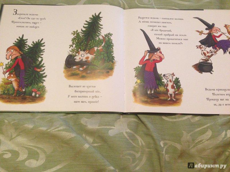 Иллюстрация 31 из 65 для Верхом на помеле. Стихи - Джулия Дональдсон | Лабиринт - книги. Источник: Кожухова  Юлия