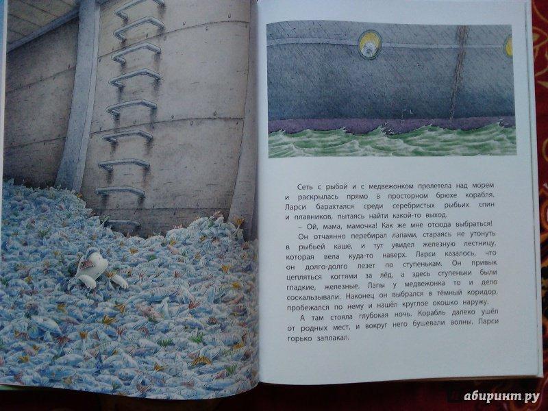 Иллюстрация 13 из 53 для Морское путешествие белого медвежонка - Беер Де | Лабиринт - книги. Источник: Ольга