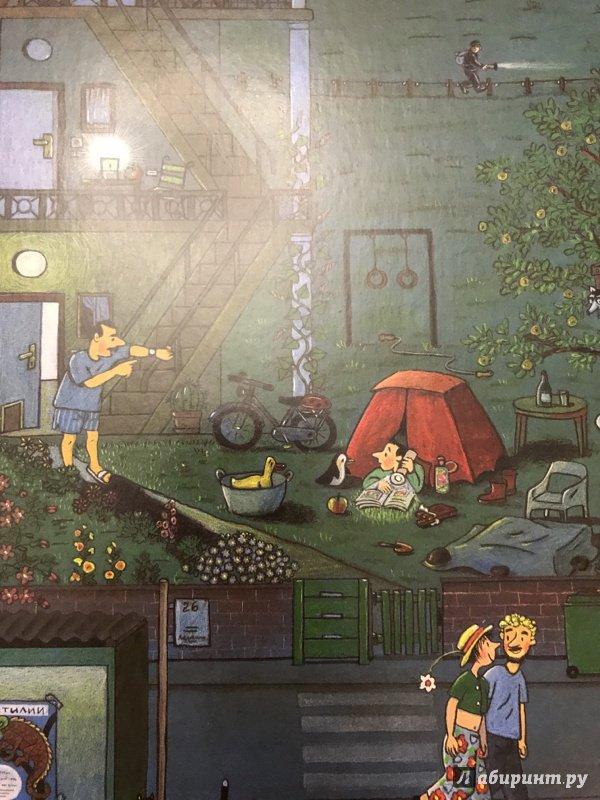 Иллюстрация 60 из 61 для Ночная книга (виммельбух) - Ротраут Бернер | Лабиринт - книги. Источник: Фролова  Кристина Александровна