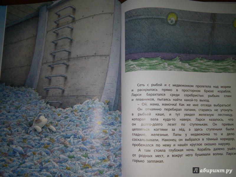 Иллюстрация 25 из 53 для Морское путешествие белого медвежонка - Беер Де   Лабиринт - книги. Источник: Тата Мур