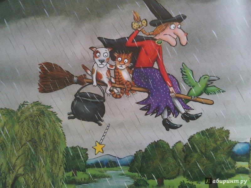 Иллюстрация 59 из 67 для Верхом на помеле. Стихи - Джулия Дональдсон   Лабиринт - книги. Источник: Ravenclaw