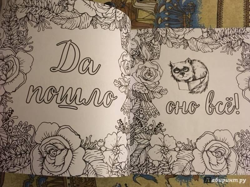 Иллюстрация 24 из 34 для Вы меня бесите! Раскраска-антистресс для взрослых   Лабиринт - книги. Источник: Мама Киры