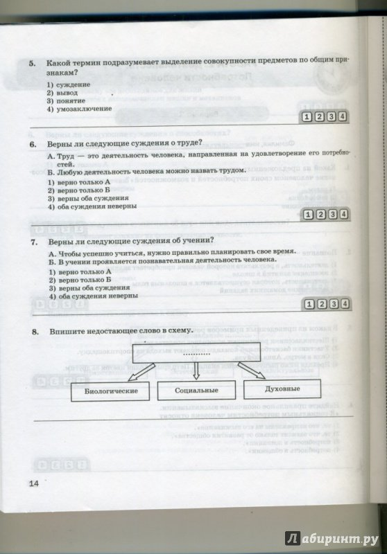 Иллюстрация 9 из 9 для Обществознание. 6 класс. Экспресс-диагностика. ФГОС - Королькова, Коваль | Лабиринт - книги. Источник: Пилипко Алина