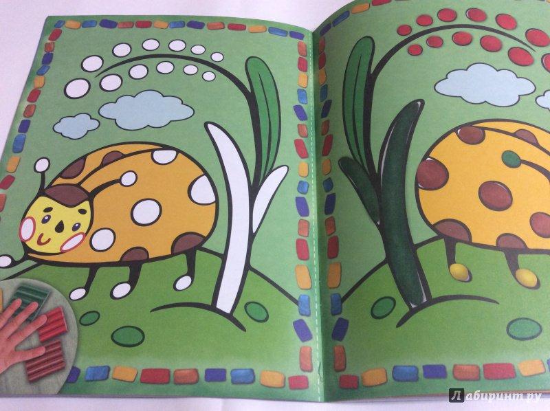 Иллюстрация 26 из 28 для Раскрась пластилином! Букашки | Лабиринт - книги. Источник: Natalia