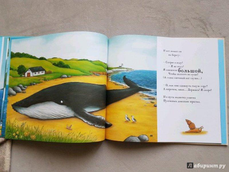 Иллюстрация 81 из 138 для Улитка и Кит - Джулия Дональдсон | Лабиринт - книги. Источник: Бессольцева Татьяна