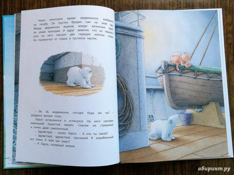 Иллюстрация 44 из 53 для Морское путешествие белого медвежонка - Беер Де   Лабиринт - книги. Источник: Natalie Leigh