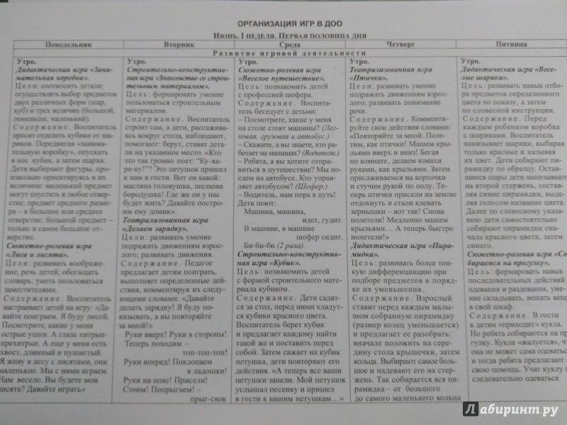 Иллюстрация 1 из 12 для Игры детей летом. 2-3 года. Табличная форма планирования. Комплект из 36 карт. ФГОС ДО | Лабиринт - книги. Источник: Траба  Дарья Викторовна