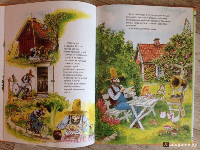 Иллюстрация 49 из 49 для Именинный пирог - Свен Нурдквист | Лабиринт - книги. Источник: Романова  Ксения
