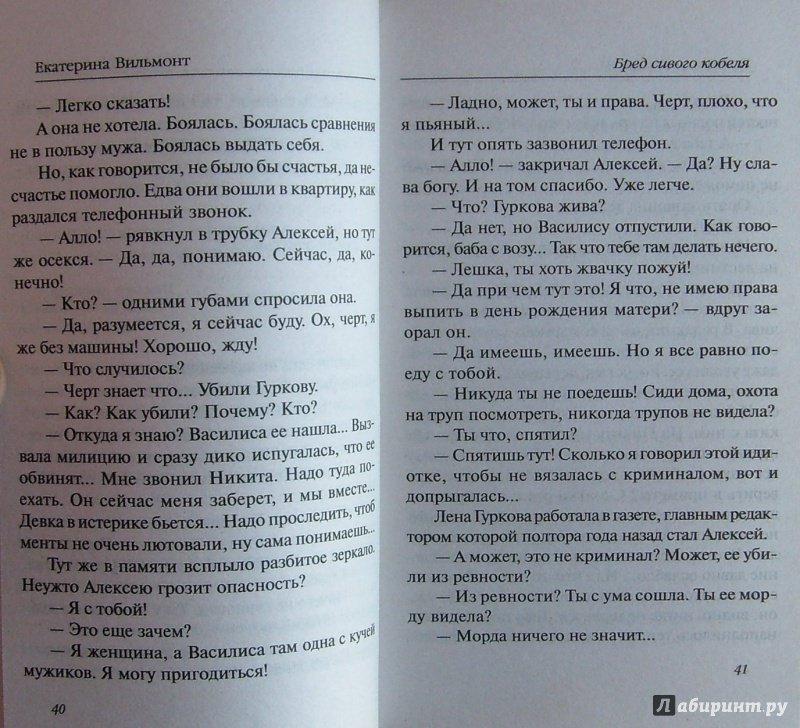 Иллюстрация 23 из 24 для Бред сивого кобеля - Екатерина Вильмонт   Лабиринт - книги. Источник: Соловьев  Владимир