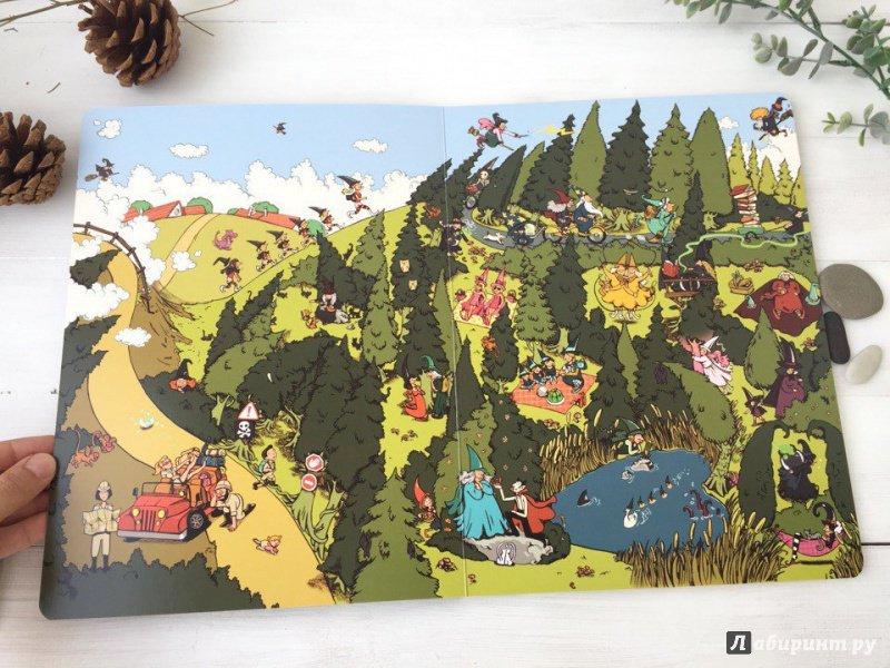 Иллюстрация 12 из 23 для Весёлые ведьмочки (виммельбух) - Рашель Шалев | Лабиринт - книги. Источник: Максимович  Светлана