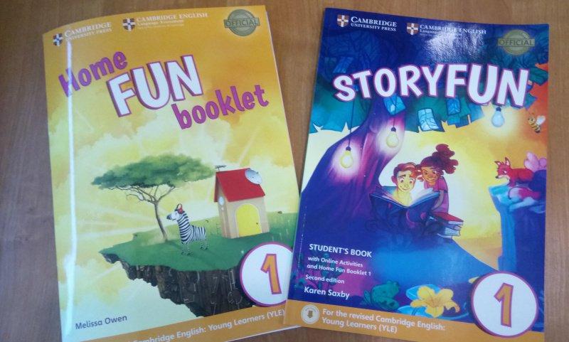 Иллюстрация 3 из 17 для Storyfun for Starters. Level 1. Student's Book with Online Activities and Home Fun. Booklet 1 - Saxby, Owen | Лабиринт - книги. Источник: SoleNn