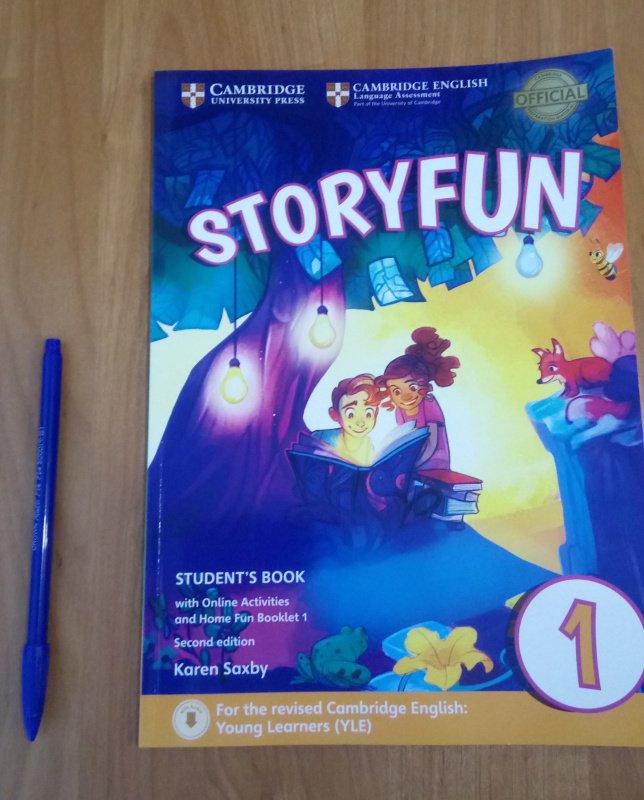 Иллюстрация 4 из 17 для Storyfun for Starters. Level 1. Student's Book with Online Activities and Home Fun. Booklet 1 - Saxby, Owen | Лабиринт - книги. Источник: SoleNn