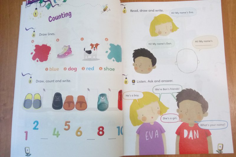 Иллюстрация 8 из 17 для Storyfun for Starters. Level 1. Student's Book with Online Activities and Home Fun. Booklet 1 - Saxby, Owen   Лабиринт - книги. Источник: SoleNn