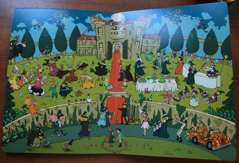 Иллюстрация 21 из 23 для Весёлые ведьмочки (виммельбух) - Рашель Шалев | Лабиринт - книги. Источник: Рудис  Александра