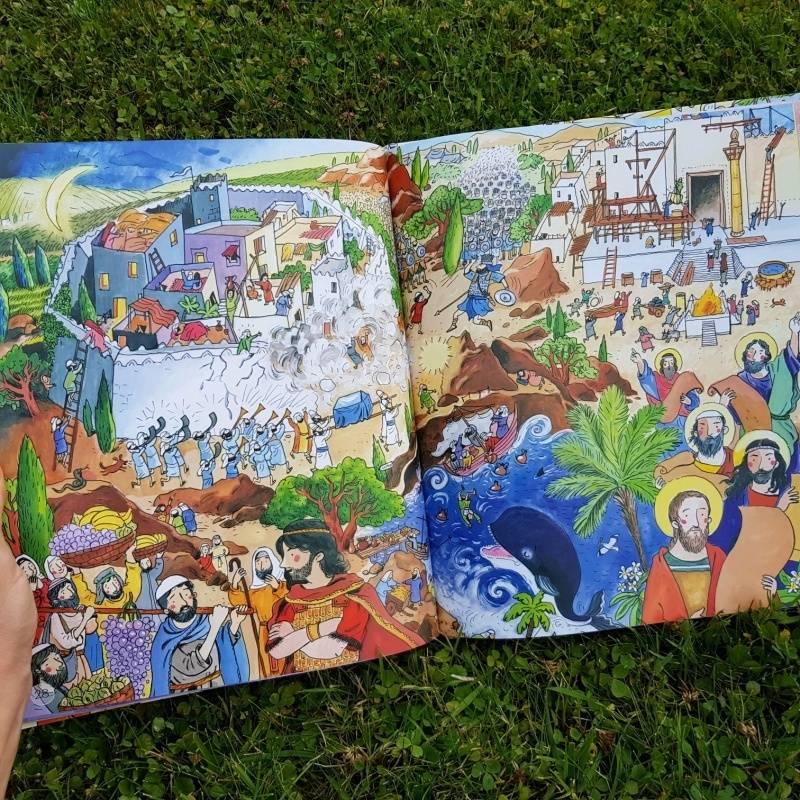 Иллюстрация 17 из 45 для Библия детская. Читай, узнавай, находи - Коршунова, Стрыгина, Лучанинов | Лабиринт - книги. Источник: Федулова  Анна Алексеевна
