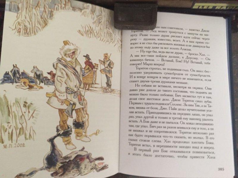 Иллюстрация 12 из 51 для Белый Клык. Зов предков - Джек Лондон | Лабиринт - книги. Источник: Литвина  Дарья Александровна