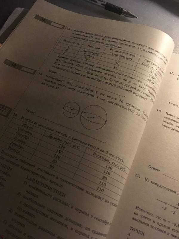 Иллюстрация 3 из 3 для ЕГЭ-2019. Математика. Типовые тестовые задания. 50 вариантов. Базовый уровень - Ященко, Антропов, Сопрунова, Забелин   Лабиринт - книги. Источник: Козуб  Артем Евгеньевич