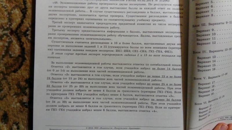 по русскому языку вариантов огэ 36 гдз цыбулько
