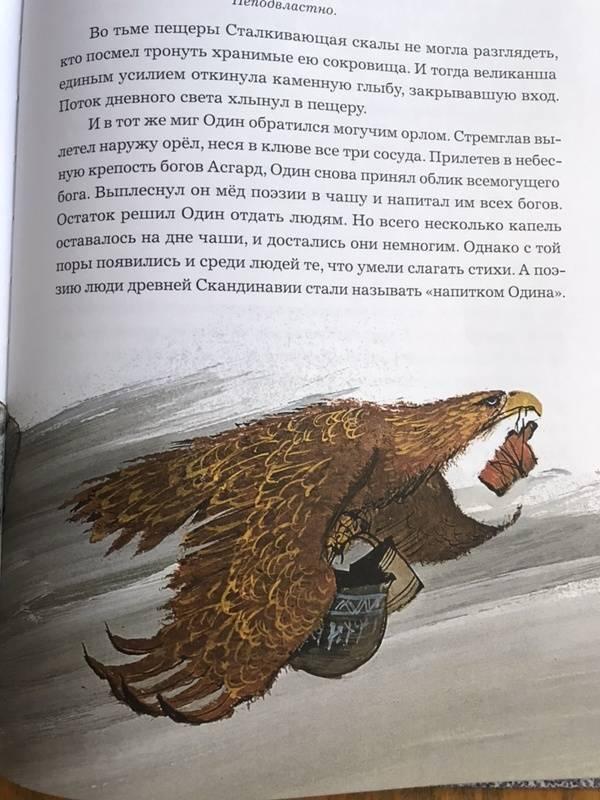 Иллюстрация 32 из 49 для Мифы Северной Европы   Лабиринт - книги. Источник: Бзарова  Ляна
