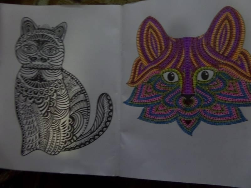 Иллюстрация 3 из 15 для Cats4. Творческая раскраска ...