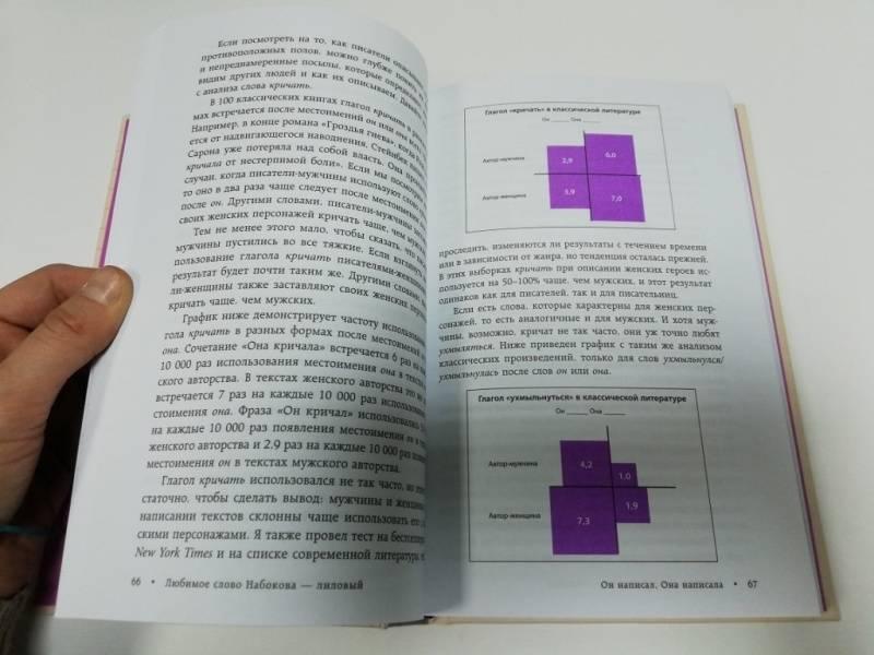 Иллюстрация 28 из 42 для Любимое слово Набокова - лиловый. Что может рассказать статистика о наших любимых авторах - Бен Блатт | Лабиринт - книги. Источник: dbyyb