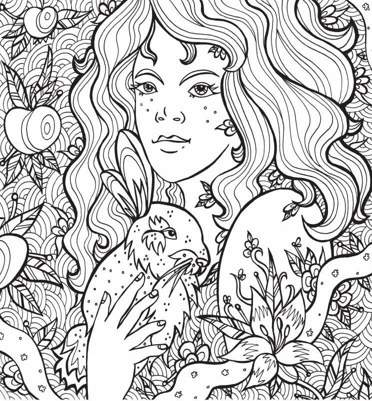 """Иллюстрация 5 из 16 для Раскраска-антистресс """"Волшебные ..."""