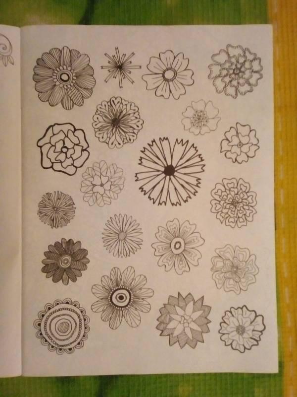 Иллюстрация 12 из 30 для Волшебный сад. Раскраска для ...