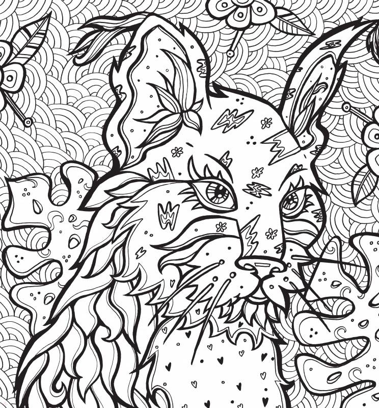 """Иллюстрация 36 из 36 для Раскраска-антистресс """"Загадочные ..."""