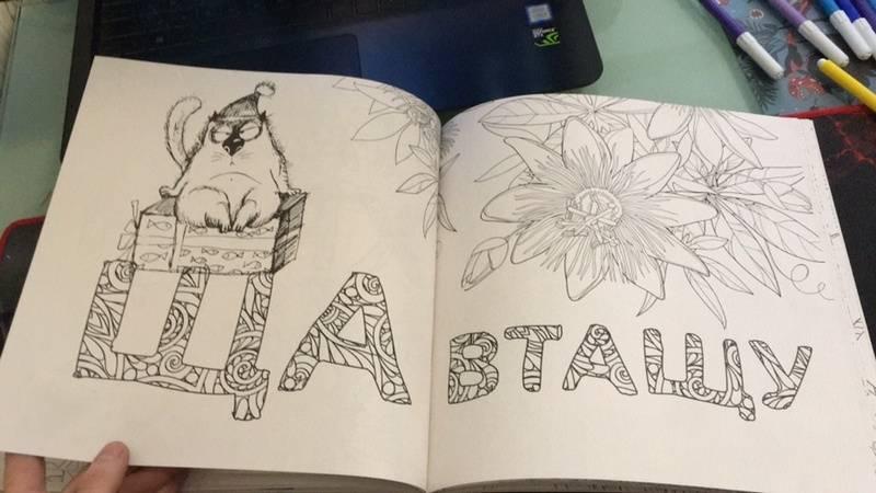 Иллюстрация 21 из 24 для Раскраска-антистресс для взрослых ...