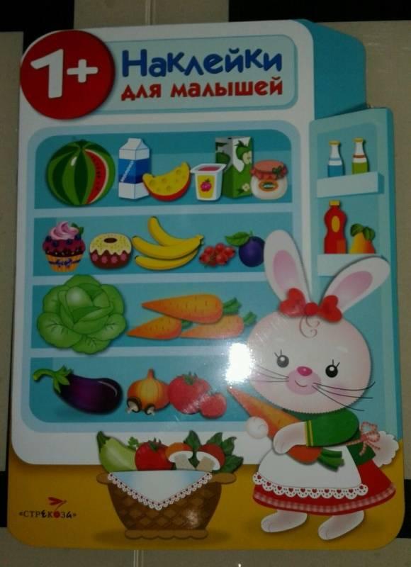 Иллюстрация 23 из 31 для Наклейки для малышей. Холодильник - Е. Никитина | Лабиринт - книги. Источник: Салихова  Эльза