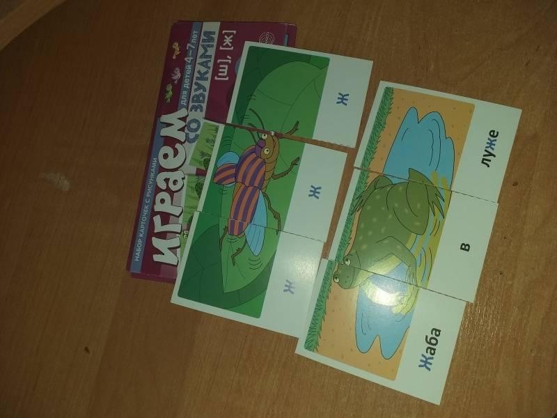 Иллюстрация 19 из 20 для Набор карточек с рисунками. Играем со звуками. Звуки [Ш], [Ж]. Для детей 4-7 лет - Снежана Танцюра | Лабиринт - книги. Источник: Евдокимова  Валентина Гавриловна