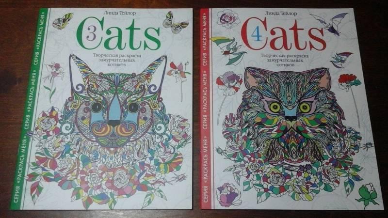 Иллюстрация 15 из 15 для Cats4. Творческая раскраска ...