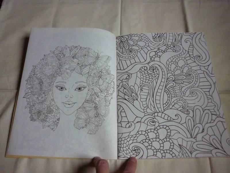 Иллюстрация 27 из 30 для Волшебный сад. Раскраска для ...