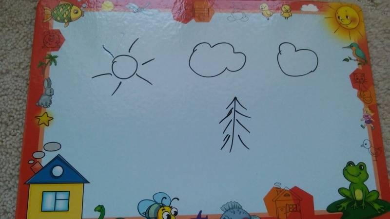Иллюстрация 9 из 9 для Доска для рисования с маркером. Слон (Д-1422) | Лабиринт - игрушки. Источник: GLenaV