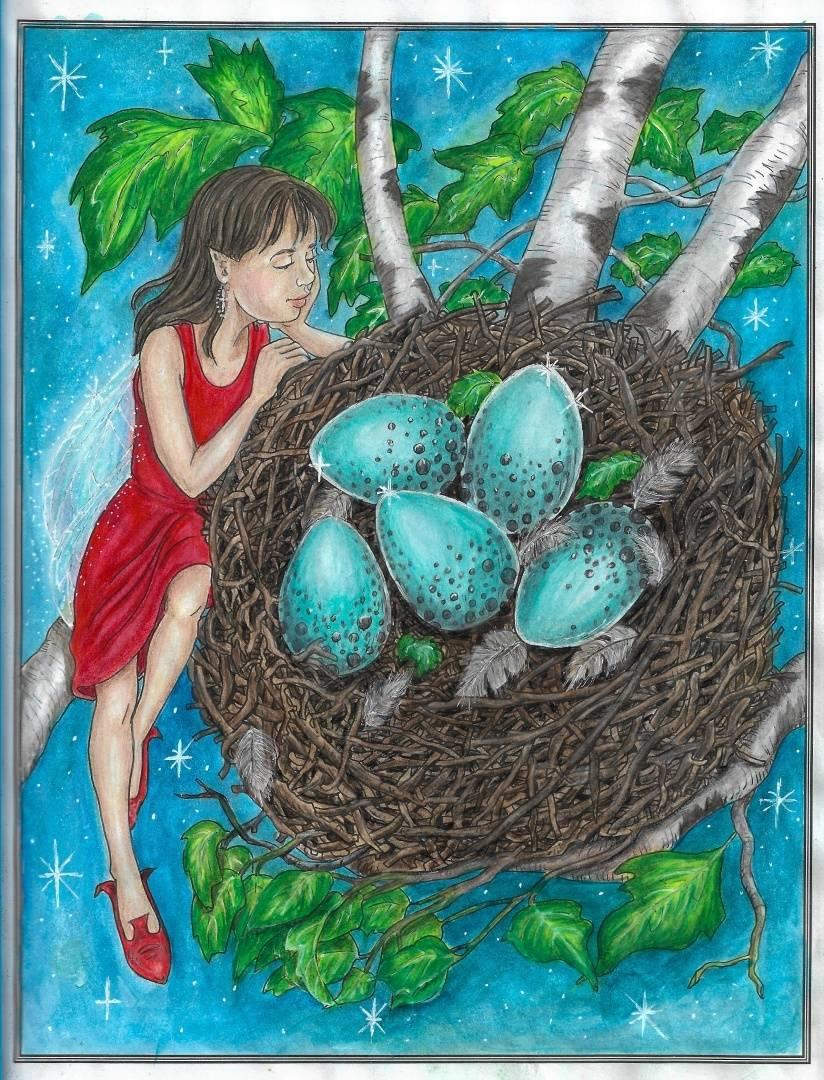 """Книга: """"Волшебный мир фей. Раскраска-антистресс для ..."""