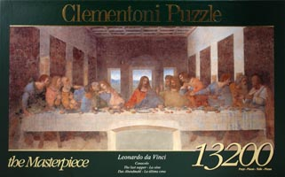 Пазл-13200 элементов The Masterpiece Leonardo. Cenacolo