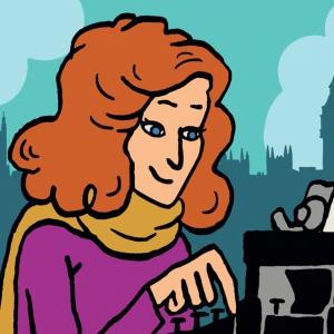 Графическая история жизни королевы детектива: тайны, путешествия ияды